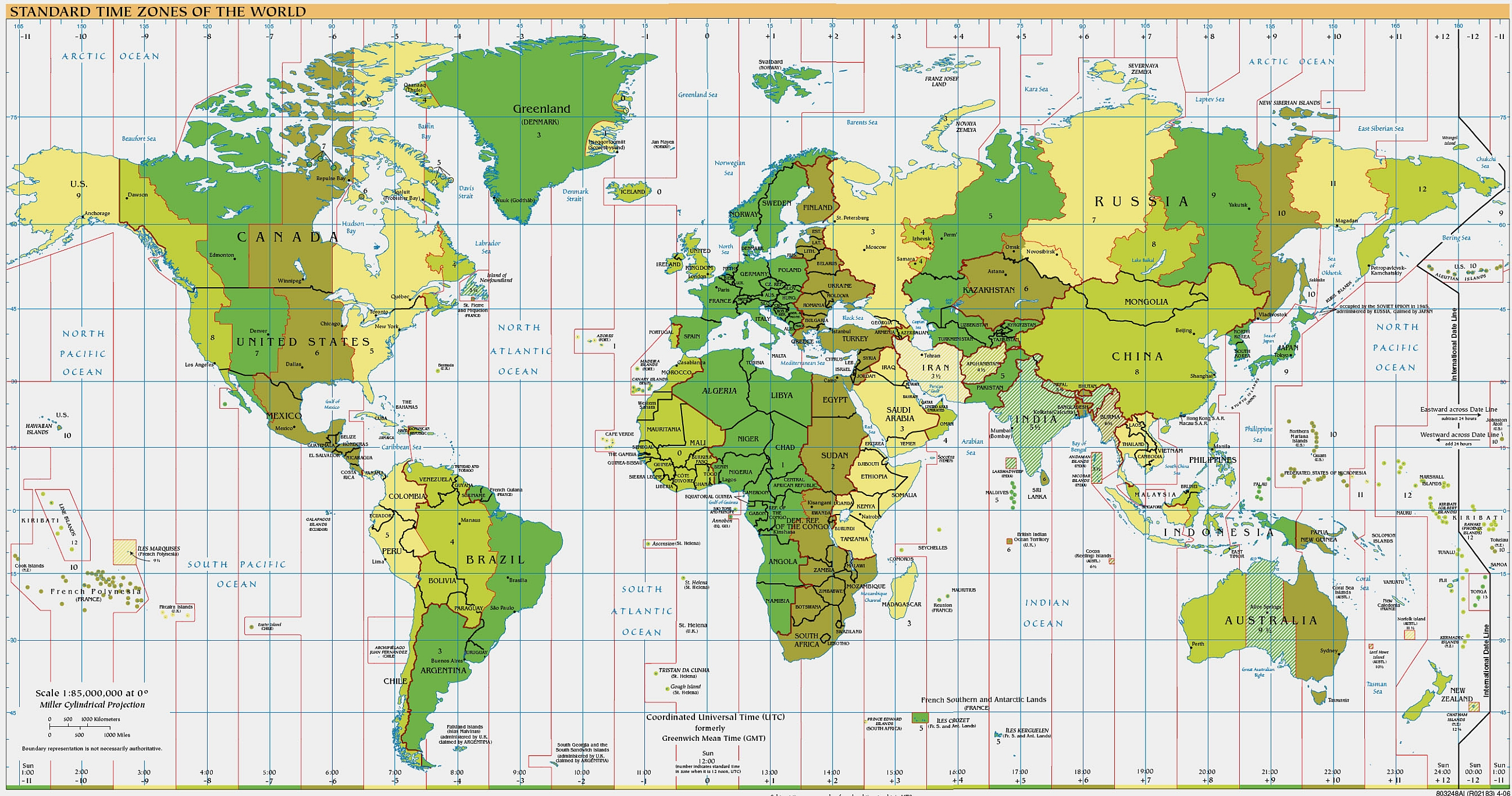 Index of time zones and abbreviations | World-Timezone.com