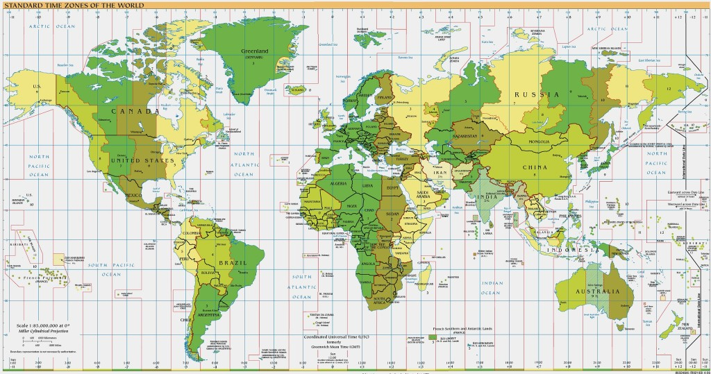 Timezones of the World